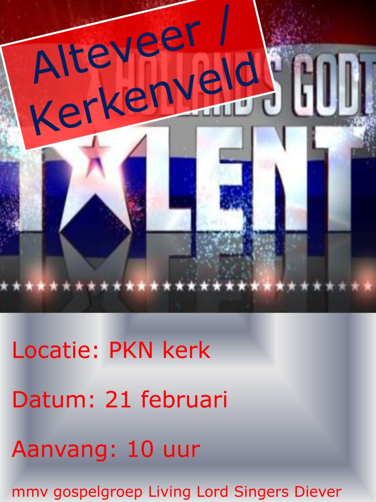 Alteveer/Kerkenveld Godt Talent