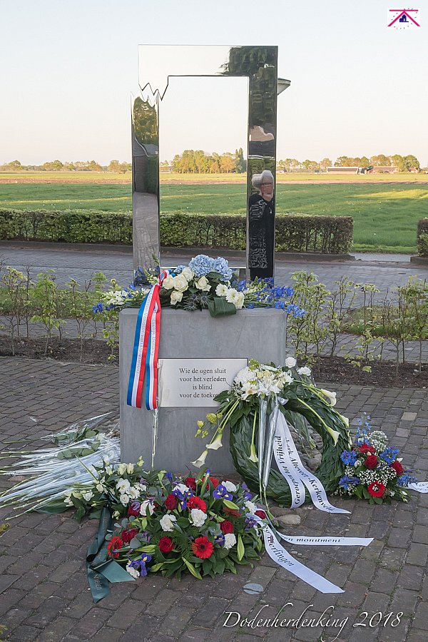Dodenherdenking 4 mei in Alteveer/Kerkenveld